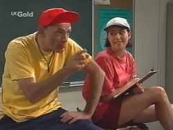 Coach Garfield, Georgia Brown in Neighbours Episode 2580