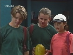 Billy Kennedy, Toadie Rebecchi, Georgia Brown in Neighbours Episode 2580