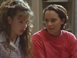 Hannah Martin, Georgia Brown in Neighbours Episode 2580