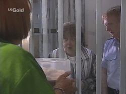 Angie Rebecchi, Marlene Kratz, Constable Reg Barker in Neighbours Episode 2581