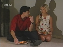 Sam Kratz, Joanna Hartman in Neighbours Episode 2582