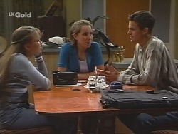 Libby Kennedy, Georgia Brown, Rupert Sprod in Neighbours Episode 2582