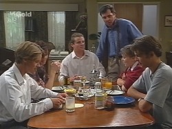Billy Kennedy, Susan Kennedy, Toadie Rebecchi, Karl Kennedy, Libby Kennedy, Malcolm Kennedy in Neighbours Episode 2582