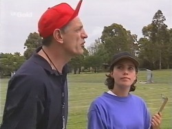 Coach Garfield, Georgia Brown in Neighbours Episode 2582
