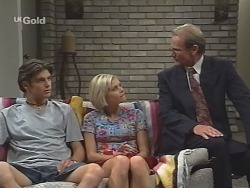 Malcolm Kennedy, Joanna Hartman, Peter Lenten in Neighbours Episode 2583