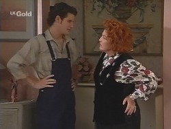 Luke Handley, Cheryl Stark in Neighbours Episode 2583