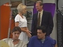 Malcolm Kennedy, Joanna Hartman, Peter Lenten, Sam Kratz in Neighbours Episode 2583