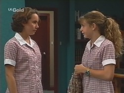Georgia Brown, Hannah Martin in Neighbours Episode 2584