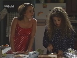 Georgia Brown, Hannah Martin in Neighbours Episode 2585