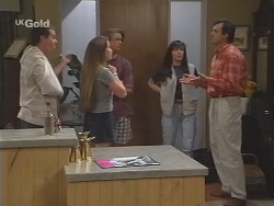 Toadie Rebecchi, Libby Kennedy, Billy Kennedy, Susan Kennedy, Karl Kennedy in Neighbours Episode 2585
