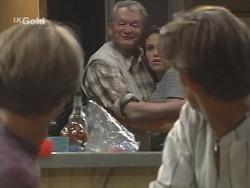 Billy Kennedy, Tom Kennedy, Libby Kennedy, Malcolm Kennedy in Neighbours Episode 2585