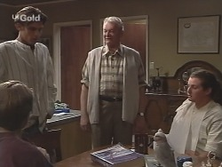 Billy Kennedy, Malcolm Kennedy, Tom Kennedy, Toadie Rebecchi in Neighbours Episode 2586