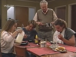 Libby Kennedy, Billy Kennedy, Tom Kennedy, Toadie Rebecchi in Neighbours Episode 2586