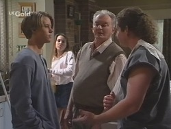Billy Kennedy, Libby Kennedy, Tom Kennedy, Toadie Rebecchi in Neighbours Episode 2586