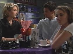 Danni Stark, Rupert Sprod, Libby Kennedy in Neighbours Episode 2587