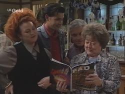 Cheryl Stark, Sam Kratz, Lou Carpenter, Marlene Kratz in Neighbours Episode 2587