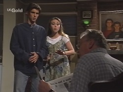 Malcolm Kennedy, Libby Kennedy, Tom Kennedy in Neighbours Episode 2588