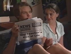 Billy Kennedy, Libby Kennedy in Neighbours Episode 2588