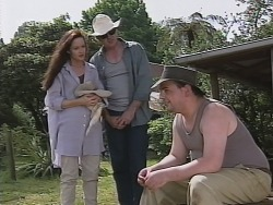 Susan Kennedy, Karl Kennedy, Jeffrey Murphy in Neighbours Episode 2588