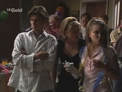 Malcolm Kennedy, Danni Stark, Libby Kennedy in Neighbours Episode 2588
