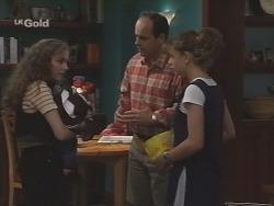 Debbie Martin, Philip Martin, Hannah Martin in Neighbours Episode 2589