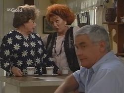 Marlene Kratz, Cheryl Stark, Lou Carpenter in Neighbours Episode 2589