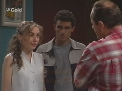 Debbie Martin, Joel Supple, Philip Martin in Neighbours Episode 2590