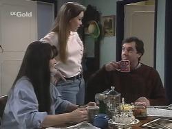 Susan Kennedy, Libby Kennedy, Karl Kennedy in Neighbours Episode 2704