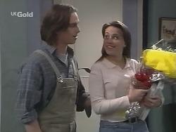 Darren Stark, Libby Kennedy in Neighbours Episode 2704
