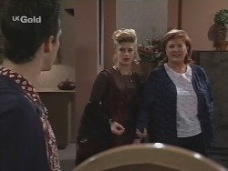 Steve George, Danni Stark, Cheryl Stark in Neighbours Episode 2705