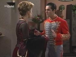 Danni Stark, Steve George in Neighbours Episode 2705