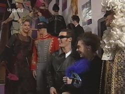 Danni Stark, Steve George, Stonie Rebecchi, Debbie Martin, Luke Handley in Neighbours Episode 2705