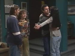 Casper Mack, Hannah Martin, Karl Kennedy, Susan Kennedy in Neighbours Episode 2705