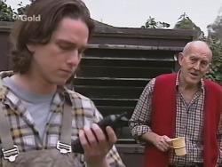 Darren Stark, Grumpy Man  in Neighbours Episode 2731