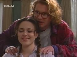 Libby Kennedy, Brett Stark  in Neighbours Episode 2731