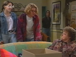 Libby Kennedy, Brett Stark, Darren Stark, Marlene Kratz in Neighbours Episode 2732