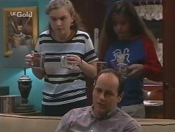 Debbie Martin, Philip Martin, Hannah Martin in Neighbours Episode 2734
