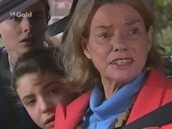 Debbie Martin, Hannah Martin, Helen Daniels in Neighbours Episode 2734
