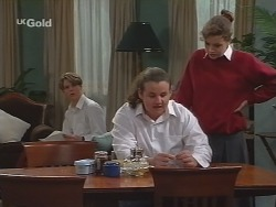 Billy Kennedy, Toadie Rebecchi, Hannah Martin in Neighbours Episode 2734
