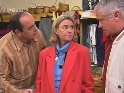 Philip Martin, Helen Daniels, Lou Carpenter in Neighbours Episode 2735
