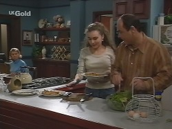 Helen Daniels, Debbie Martin, Philip Martin in Neighbours Episode 2736