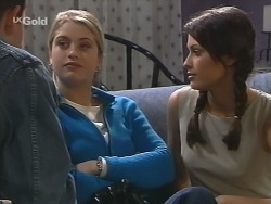 Luke Handley, Danni Stark, Sarah Beaumont in Neighbours Episode 2736