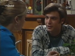 Danni Stark, Malcolm Kennedy in Neighbours Episode 2736