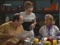 Philip Martin, Debbie Martin, Helen Daniels in Neighbours Episode 2736
