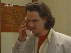 Lord Steven Harrow in Neighbours Episode 2736