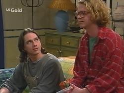 Darren Stark, Brett Stark in Neighbours Episode 2737