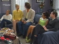 Danni Stark, Joanna Hartman, Lord Steven Harrow, Sarah Beaumont, Luke Handley in Neighbours Episode 2737