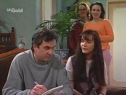 Karl Kennedy, Brett Stark, Susan Kennedy, Libby Kennedy in Neighbours Episode 2737