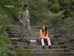 Darren Stark, Libby Kennedy in Neighbours Episode 2737