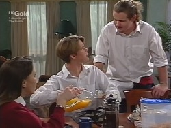 Libby Kennedy, Billy Kennedy, Toadie Rebecchi in Neighbours Episode 2738